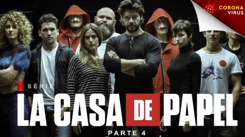 To Casa de Papel έριξε το Netflix (pics & vid)