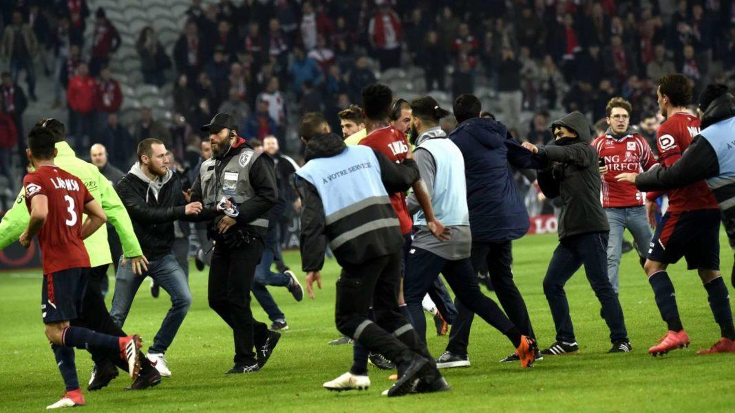 LFP: Έρευνα για την επίθεση οπαδών στους παίκτες της Λιλ