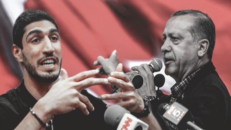 Καντέρ: «Έχω πεθάνει ή η FIBA τρέμει τον δικτάτορα Ερντογάν»;
