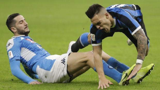 Κορονοϊός: Αναβλήθηκε και το Νάπολι - Ίντερ για τα ημιτελικά του Coppa Italia