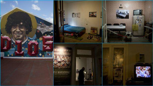 Μουσείο το σπίτι του Ντιέγκο Αρμάντο Μαραντόνα (pics)