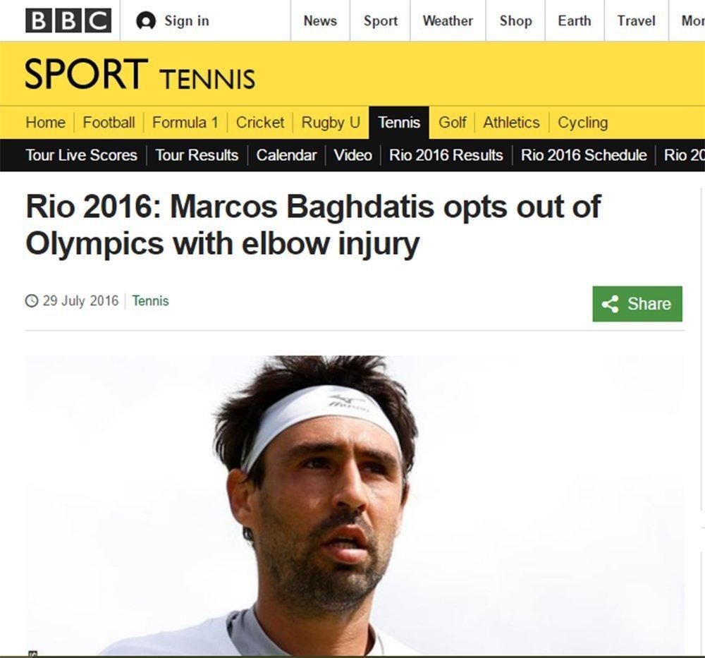 Ο Παγδατής έγινε θέμα στο BBC