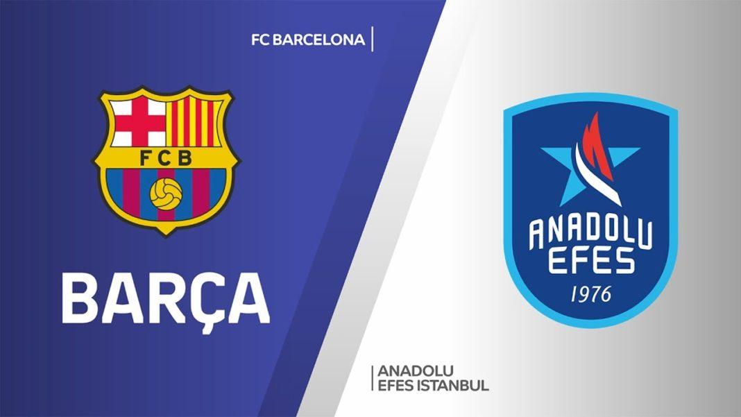 Euroleague: Απόψε ο τελικός Μπαρτσελόνα - Αναντολού Εφές