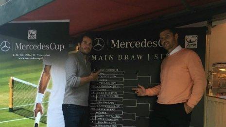 H κλήρωση του Mercedes Cup
