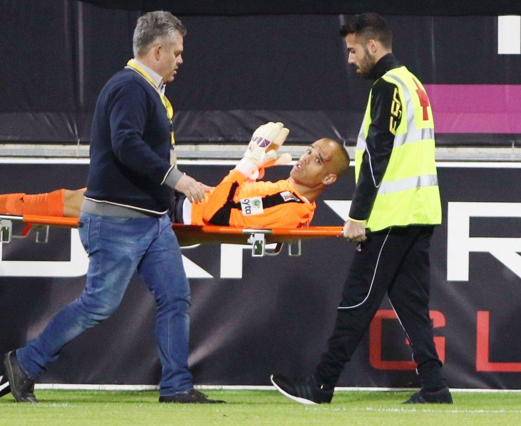 Ο Μίνιο μετά τον τραυματισμό του (pic)