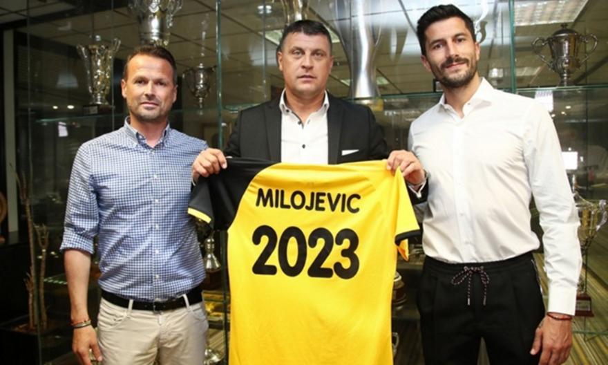 Ανακοίνωσε τον Μιλόγεβιτς η ΑΕΚ