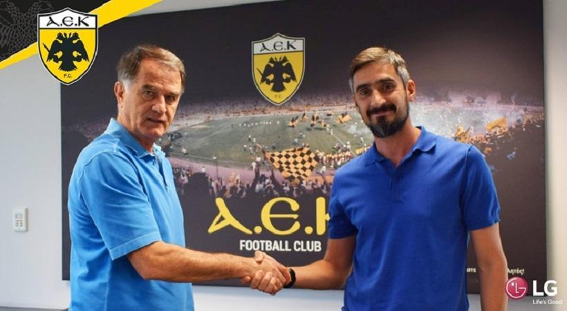 Λυμπερόπουλος: «Να επιβεβαιώσω την εμπιστοσύνη που μου δείχνει και πάλι η ΑΕΚ»