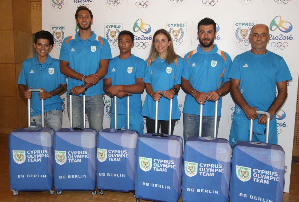 Η Κυπριακή Ολυμπιακή Ομάδα στο Ολυμπιακό Χωριό
