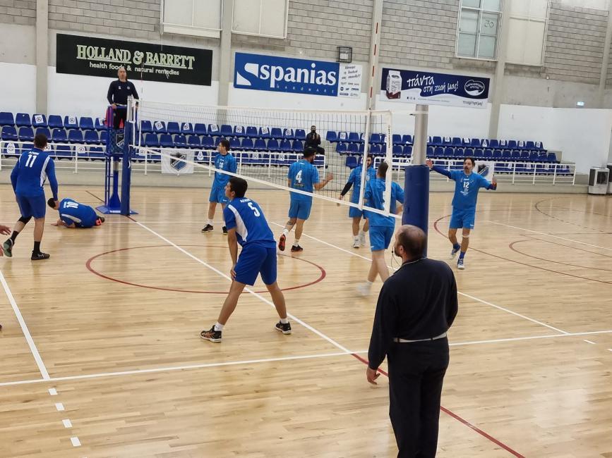 Βόλεϊ Κύπελλο Β' Κατηγορίας: UCLan Cyprus  Φοίνικας Πύλας και ΑΠΟΚ στον τελικό