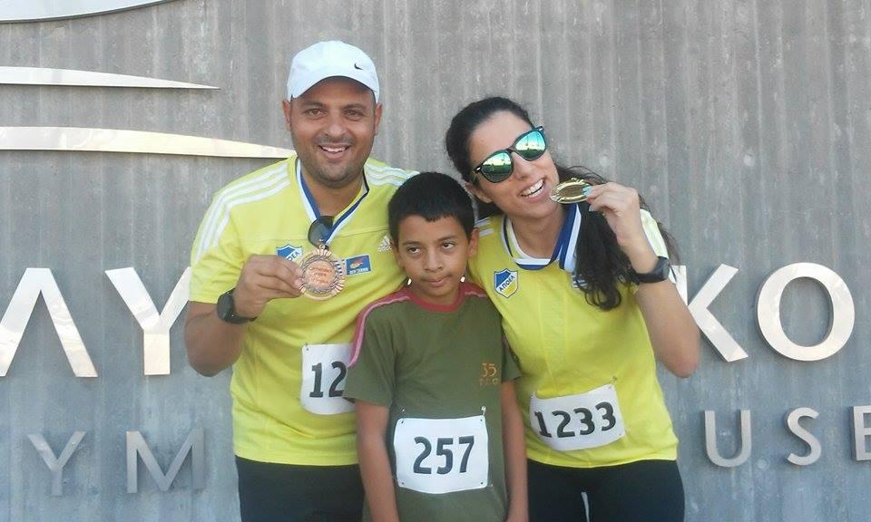 Διακρίσεις στο «Olympic Day Run»