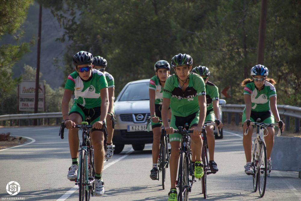 Ομόνοια: Εντυπωσιακή η ποδηλατική ομάδα