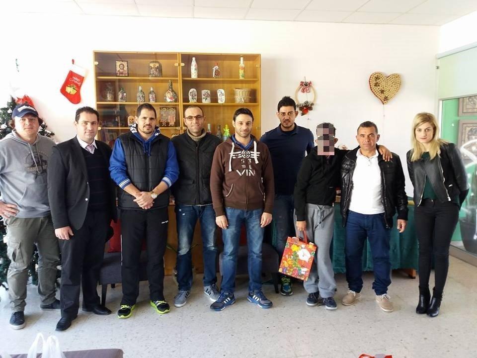 Δώρα αγάπης προσέφεραν Παφίτες διαιτητές