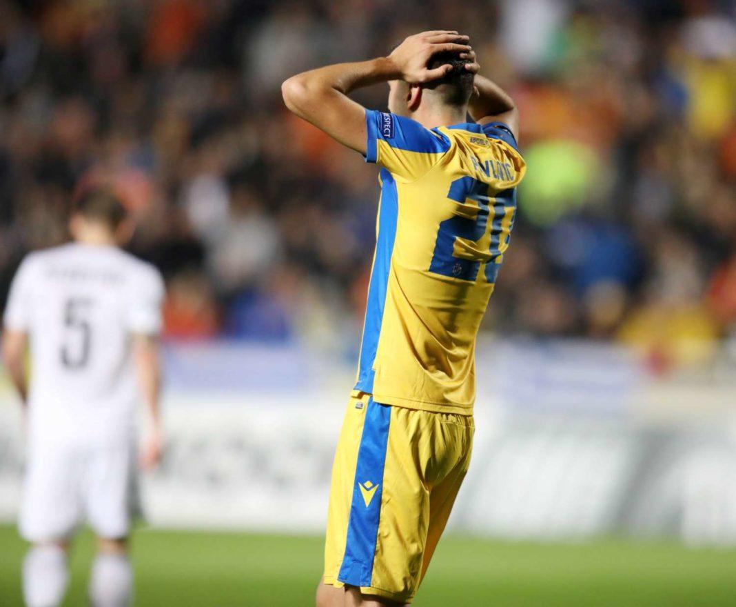 Το γκολ του Πάβλοβιτς που ακυρώθηκε ως οφσάιντ (φωτογραφία)