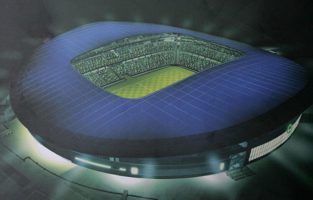 Το γήπεδο του Βοτανικού οι κορμοράνοι και τα όνειρα που έμειναν στις μακέτες