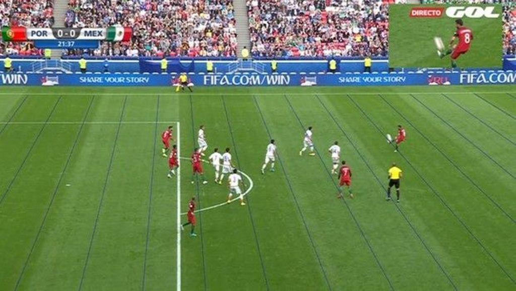 Το πρώτο γκολ που ακυρώθηκε με χρήση replay! (video)