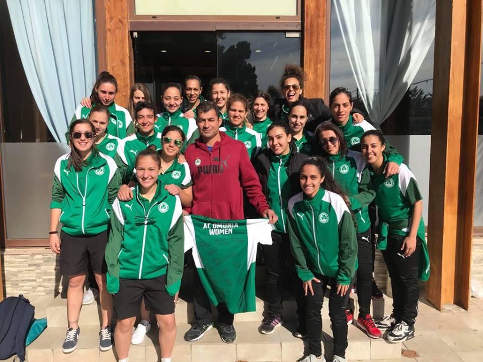 Γυναικείο: Τίμησε τον παραολυμπιονίκη