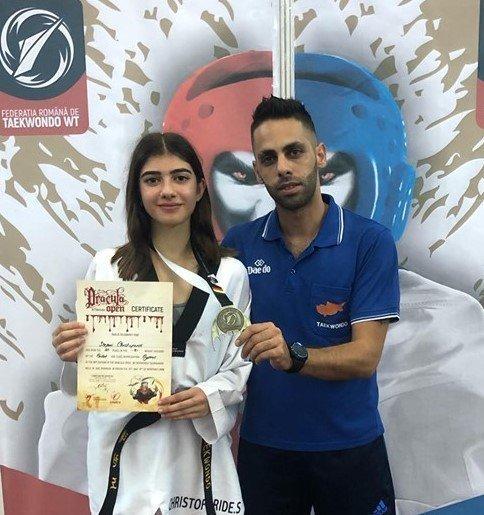 Χρυσό η Χριστοφορίδου στο παγκόσμιο Ολυμπιακό τουρνουά G1 Ρουμανίας!