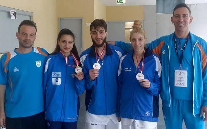 Τάεκβοντο: Τρεις από Κύπρο σε «Grand Prix»