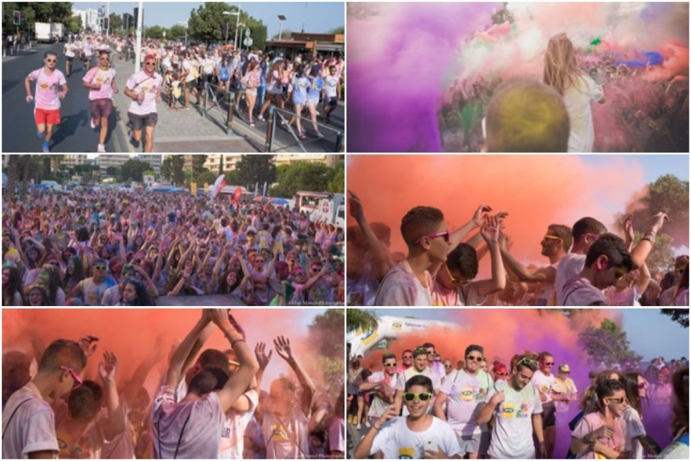 MTN-Run In Colour: Χρώμα με 10.000 συμμετέχοντες και ελπίδα στα παιδιά με καρκίνο