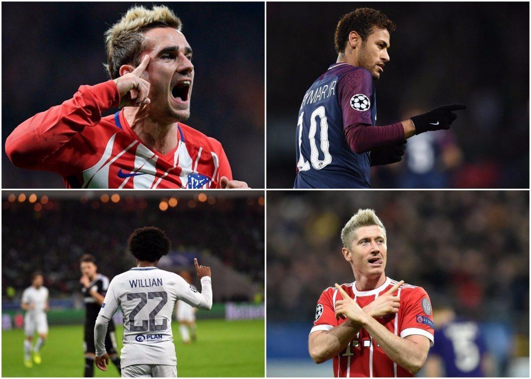Champions League: Όλα τα γκολ στο πιάτο σας! (vids)