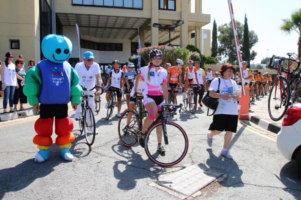 ΚΟΑ: Άρχισε η Ποδηλατική Πορεία ΟΠΑΠ