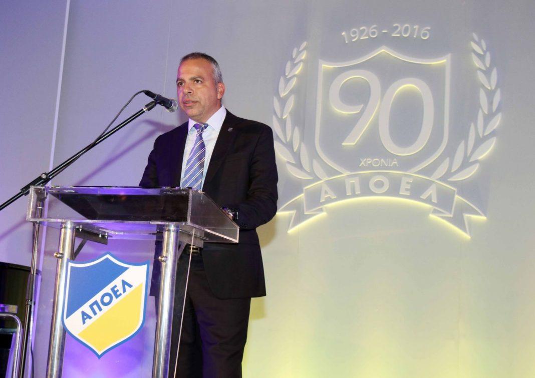 «Το 2017 η αφετηρία για την κυριαρχία του ΑΠΟΕΛ μας σε όλα τα αθλήματα»