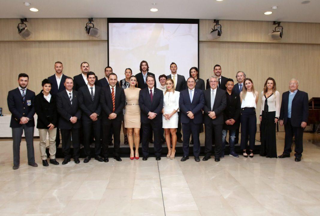 Τελετή βράβευσης Κύπριων Ολυμπιονικών