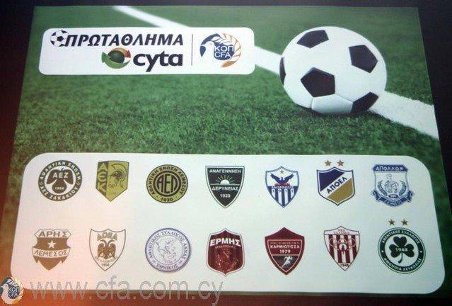 Ολοκληρώνεται ο Α' γύρος στο Πρωτάθλημα Cyta (πρόγραμμα και τηλεοπτικές μεταδόσεις)
