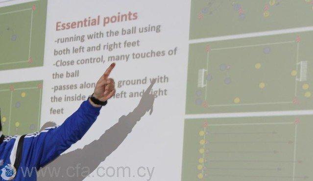 Νέα σειρά μαθημάτων UEFA C