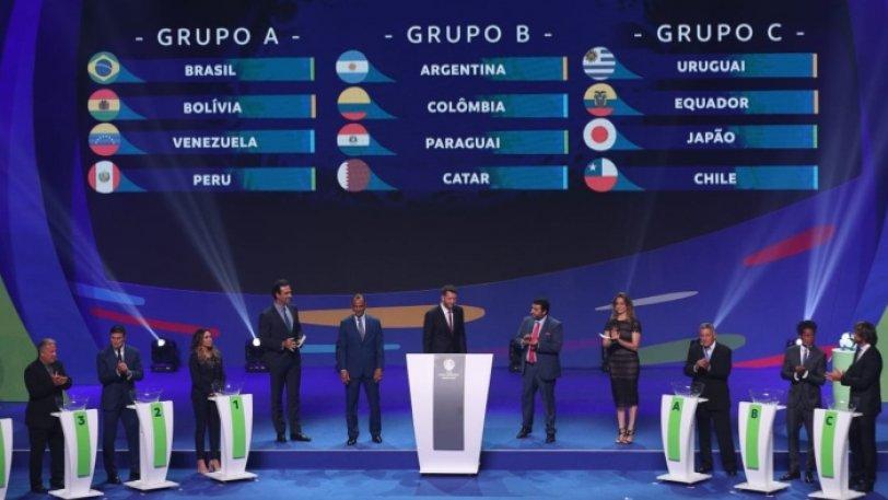 H κλήρωση του Copa America 2019 (pics)