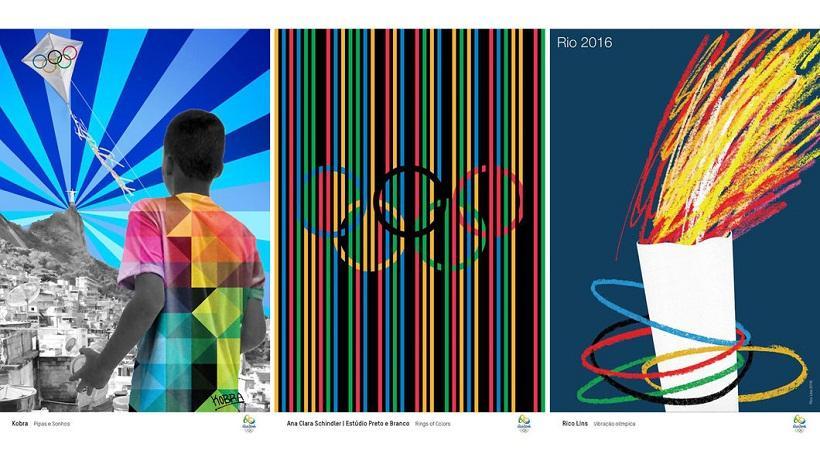 Τα επίσημα πόστερ των Ολυμπιακών Αγώνων θυμίζουν... Ρίο! (pics)