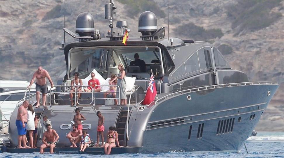 Έφοδος στο σκάφος του Ρονάλντο!