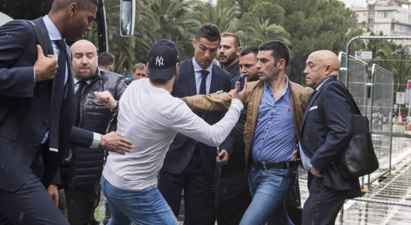 Κύπριος παρίστανε τον ρεπόρτερ και την «έπεσε» στον Ρονάλντο!