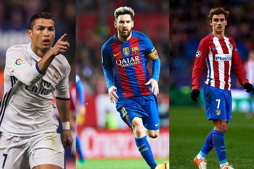 FIFA: Οι τρεις υποψήφιοι για τον Καλύτερο Ποδοσφαιριστή της Χρονιάς