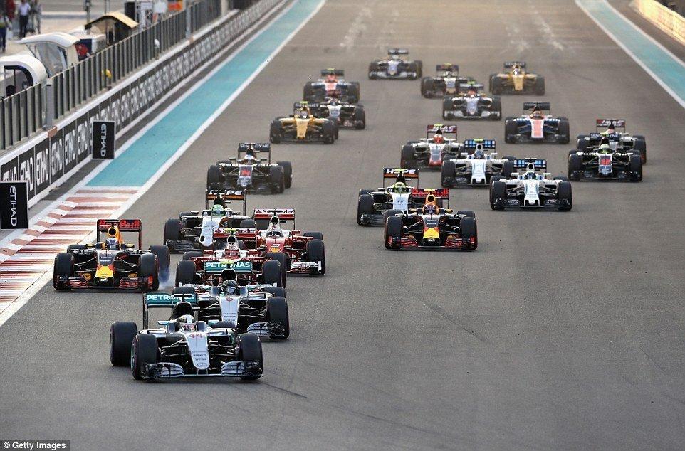 Η προσωρινή λίστα συμμετοχών της Formula 1 για το 2017