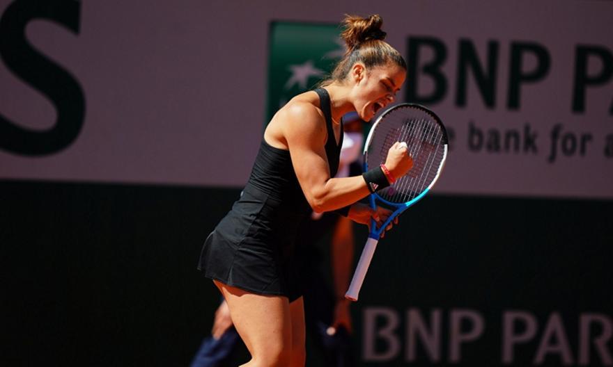 «Πέταξε» στον 4ο γύρο του Roland Garros η Σάκκαρη!
