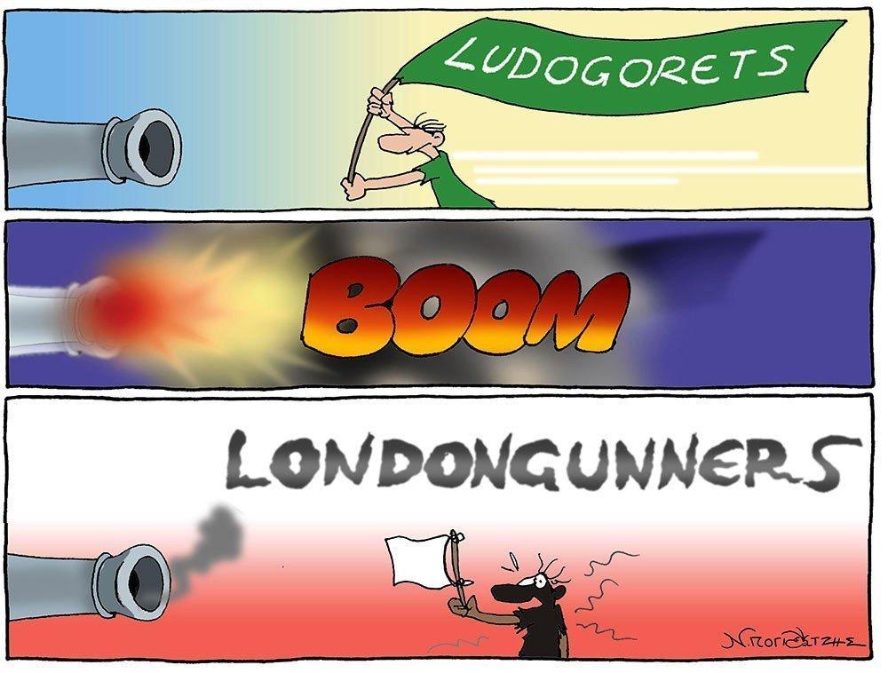 Ludogorets - BOOM- Londongunners