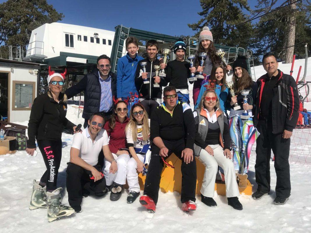 Παγκύπριοι χιονοδρομικοί αγώνες γιγαντιαίας κατάβασης 2020