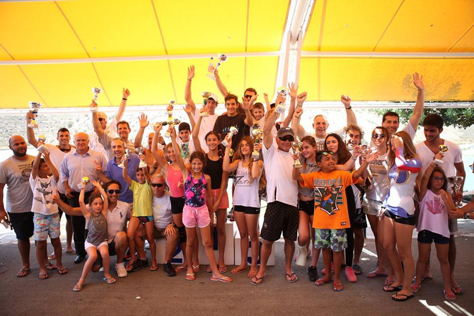 Θαλάσσιο Σκι: Βροχή τα παγκύπρια ρεκόρ από τρεις αθλητές