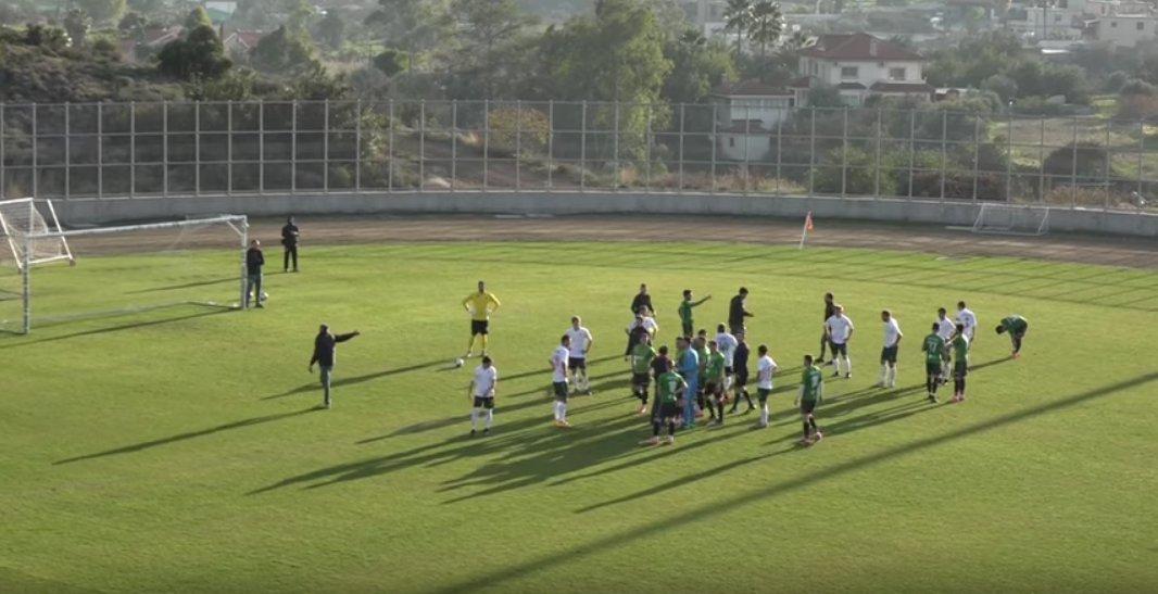 Νέο βίντεο: Σκηνές ντροπής και καραγκιοζιλίκια σε φιλικά στην Κύπρο!