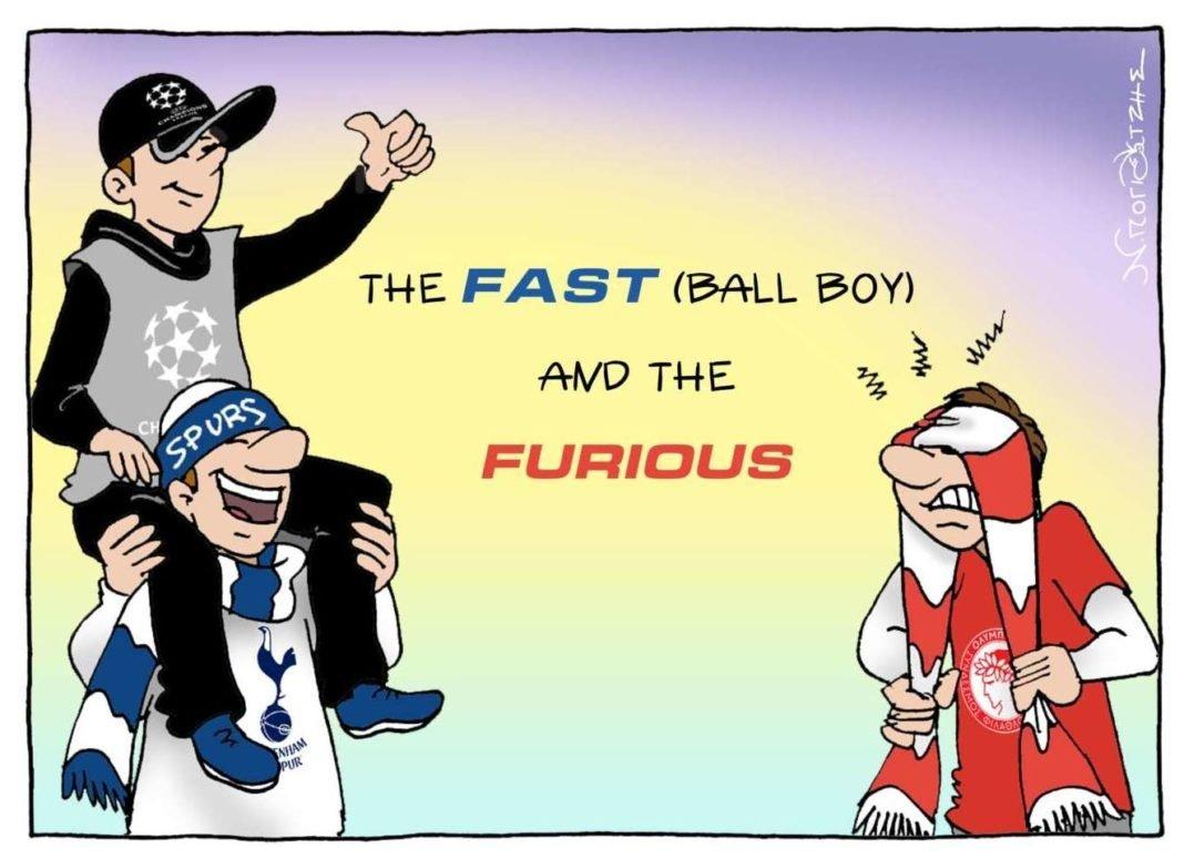 Τhe FAST (ball boy) and the FURIOUS!