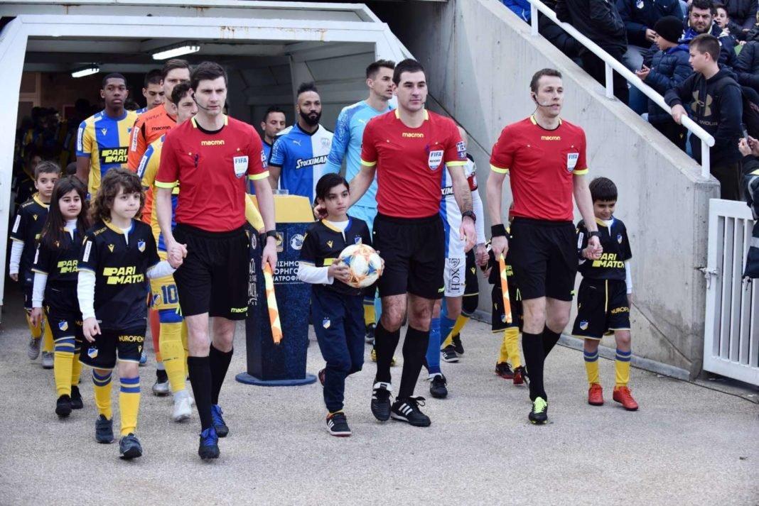 «Στήριξη σε Κύπριους διαιτητές στην επανέναρξη του πρωταθλήματος»