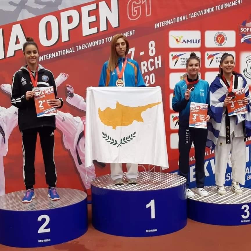 Χρυσό η Δέσποινα σε Παγκόσμιο Ολυμπιακό Τουρνουά