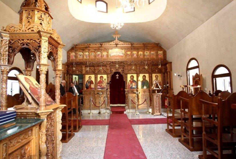 Θεία Λειτουργία στην Παναγία του Σουμελά