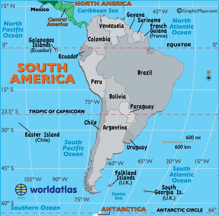 Νέα από Λατινική Αμερική