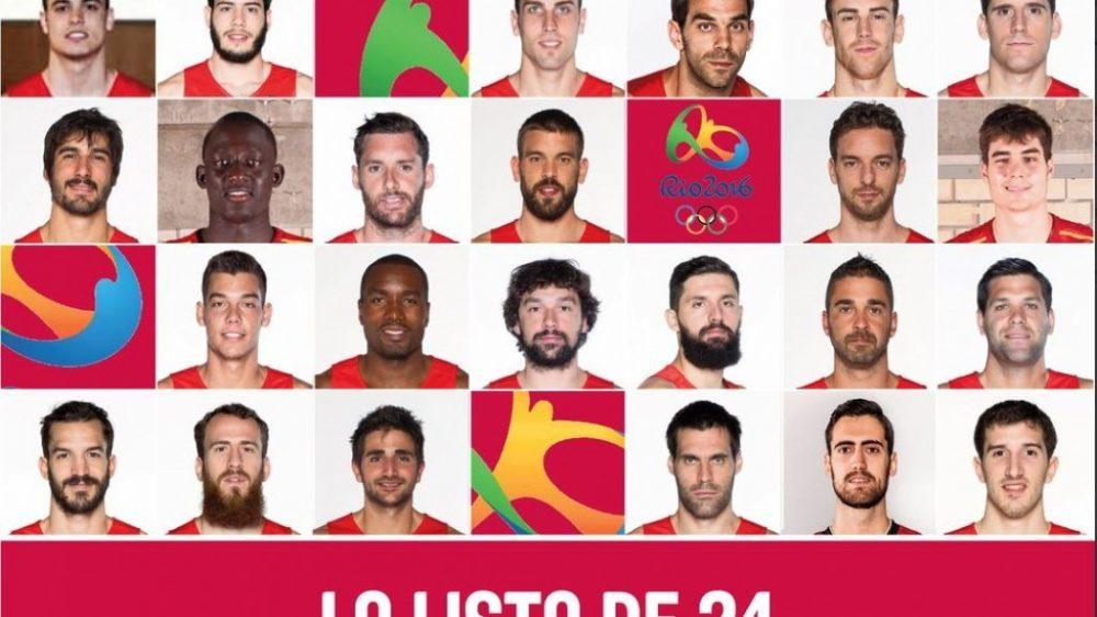 Με... Dream Team οι Ισπανοί στο Ρίο