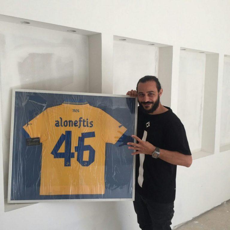 Αλωνεύτης: «Περήφανος που αποτελώ μέρος της ιστορίας του ΑΠΟΕΛ»