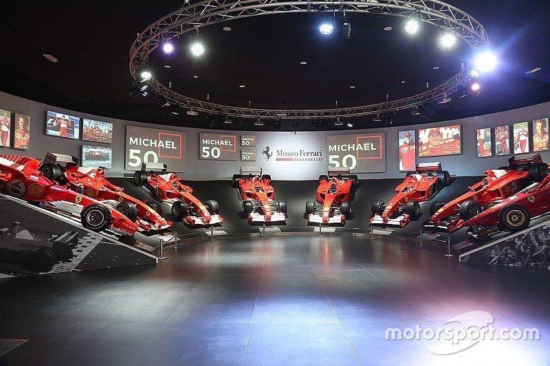 Έτσι γιορτάζει η Ferrari τα 50 χρόνια του Μίκαελ Σουμάχερ (pics & vid)