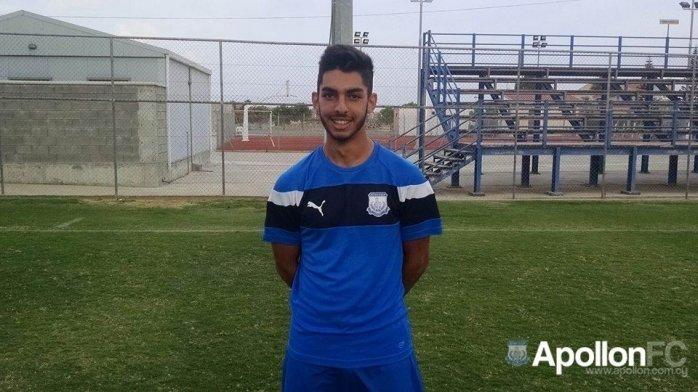 Ολύμπιος Αντωνιάδης : «Όνειρο μου να αγωνιστώ στην πρώτη ομάδα»