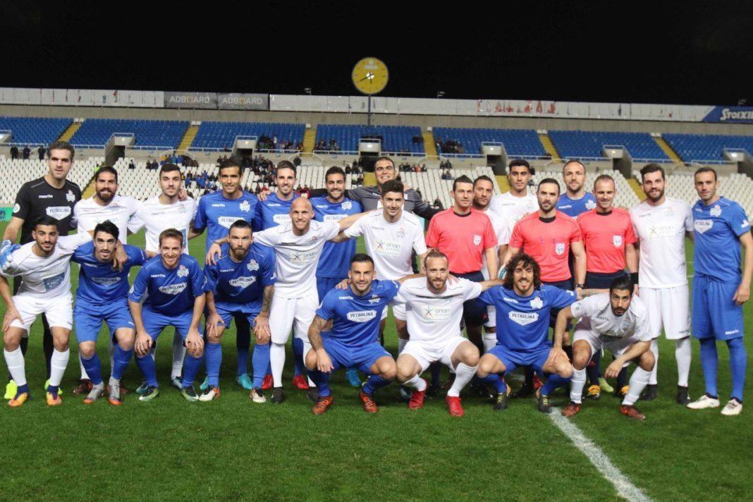 Σέντρα στην ΑΕΚ Αρένα για το Football Stars Day